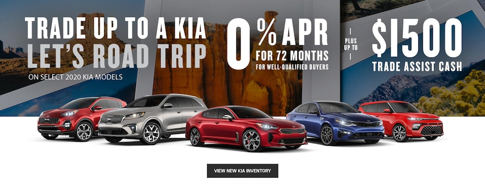 Trade Up to a Kia