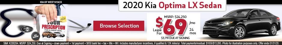 New 2020 Kia Optima LX Sedan