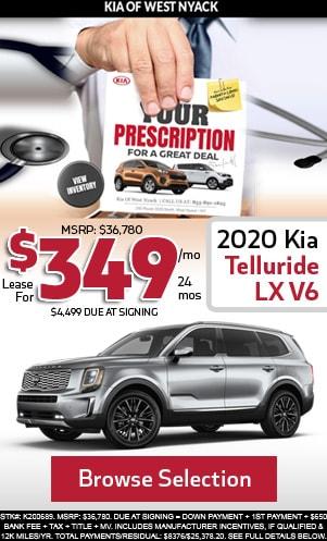 New 2020 Kia Telluride LX V6
