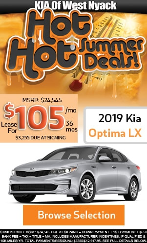 New 2019 Optima LX