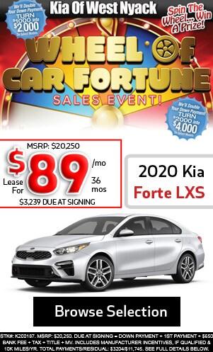 New 2020 Kia Forte LXS