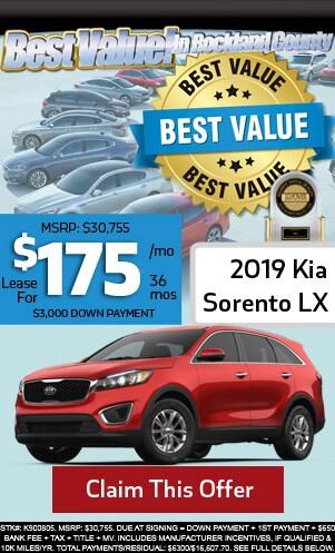 New 2019 Kia Sorento LX