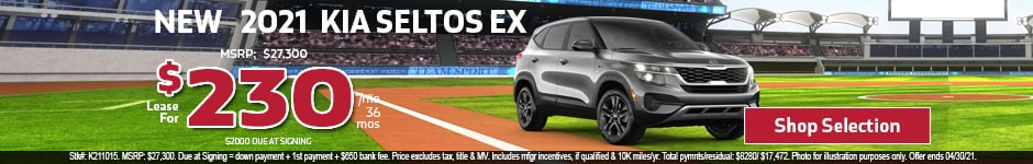 New 2021 Kia Seltos EX