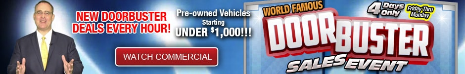 End-of-Year Doorbuster Sales Event