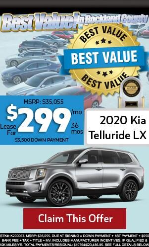 New 2020 Kia Telluride LX