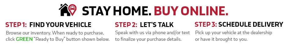 Stay Home. Buy Online.