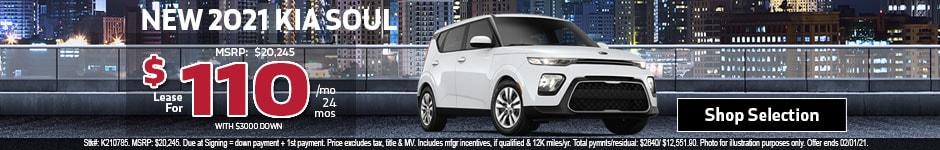 New 2021 Kia Soul Hatchback