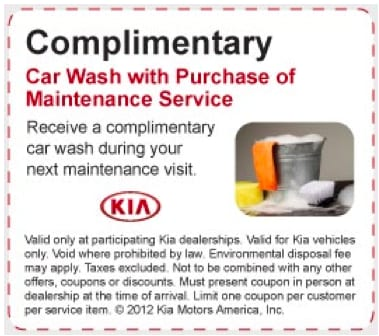Kia Complimentary Car Wash Rainbow City AL