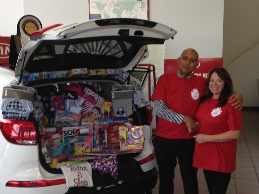 Toy Donations from Kia West