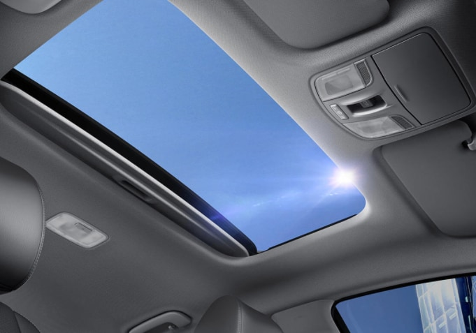 2017 Kia Rio5 LX+ Hatchback - Interior Sunroof