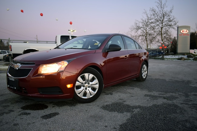 Used 2012 Chevrolet Cruze Ls For Sale Coquitlam Vancouver