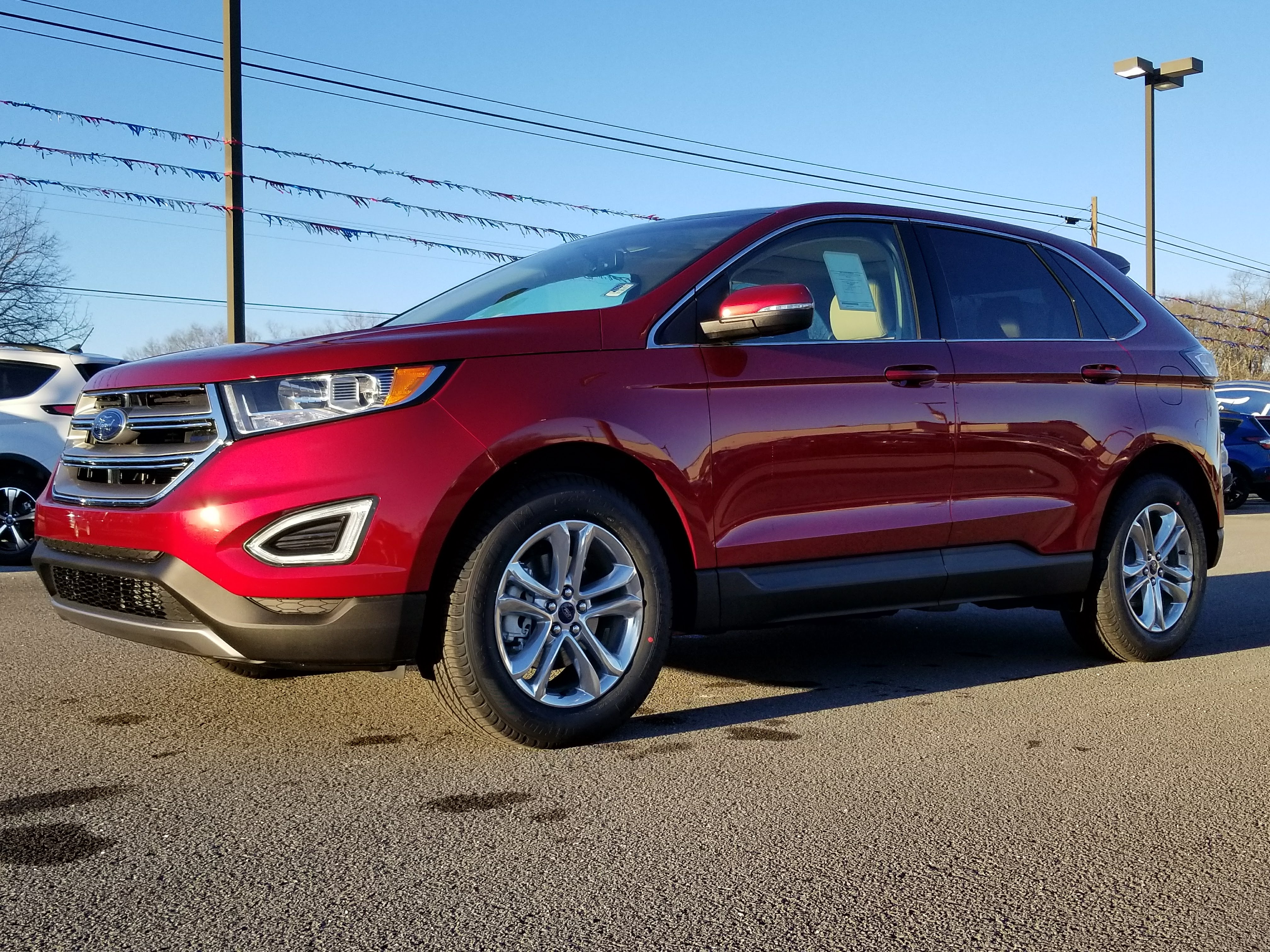 Ford Edge Sel Crossover Ti Vct V