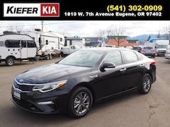 New 2019 Kia Optima LX Sedan 5XXGT4L37KG336278 in Eugene, OR