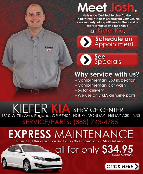 Perfect In Need Of Professional Car Repair Or Routine Maintenance? Schedule An  Appointment With Kiefer Kia In Eugene, Oregon