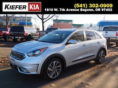 New 2019 Kia Niro Touring SUV KNDCE3LC2K5215844 in Eugene, OR