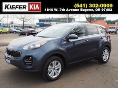 New 2019 Kia Sportage LX SUV KNDPMCAC7K7595839 in Eugene, OR