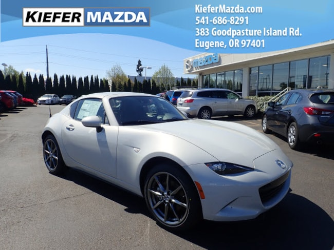 New 2018 Mazda Mazda MX-5 Miata RF Grand Touring Coupe Eugene
