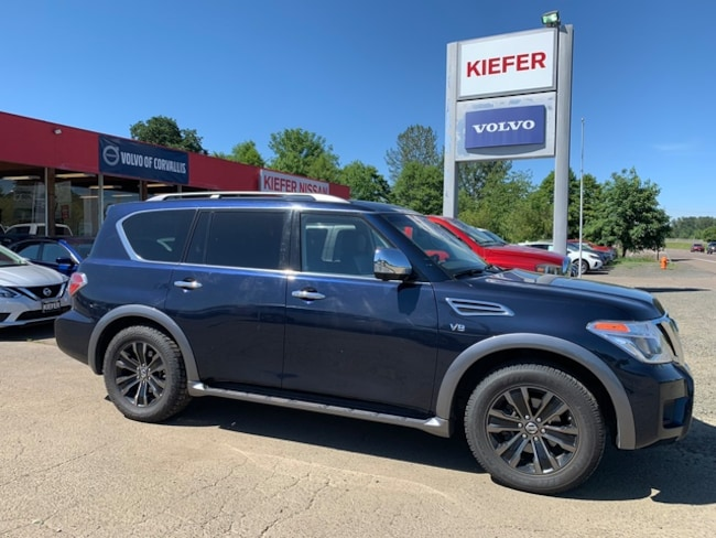 Used 2017 Nissan Armada For Sale   Corvallis OR   VIN