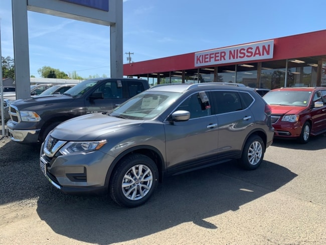 New 2019 Nissan Rogue S SUV Corvallis, OR