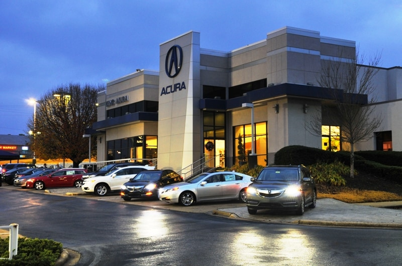 about king acura in hoover new acura and used car dealership