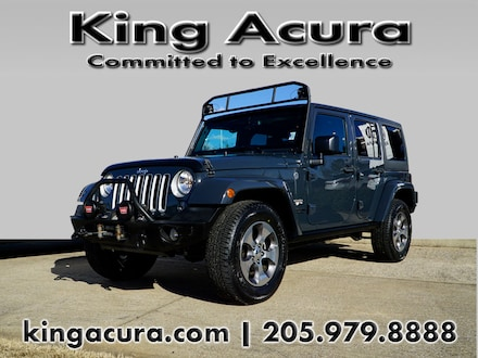 Featured Used 2016 Jeep Wrangler Unlimited 4WD 4dr Sahara Sport Utility for Sale near Birmingham, AL