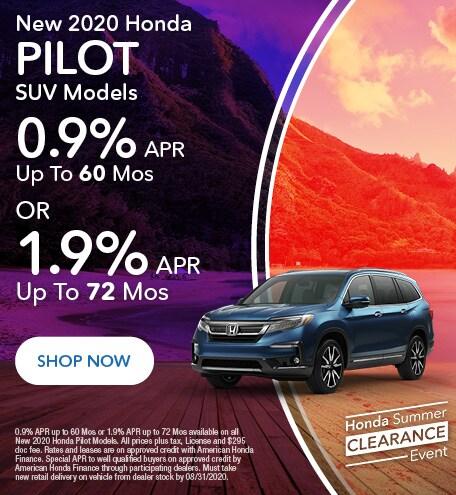 2020 Honda Pilot - APR