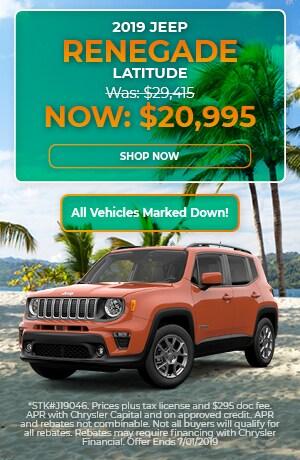 2019 Jeep Renegade - June