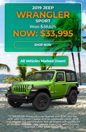 2019 Jeep Wrangler - June