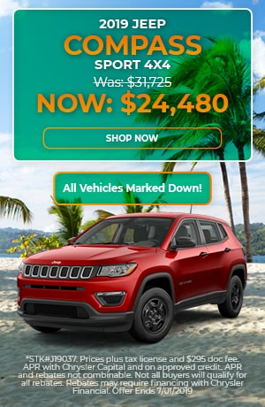 2019 Jeep Compass Sport - June