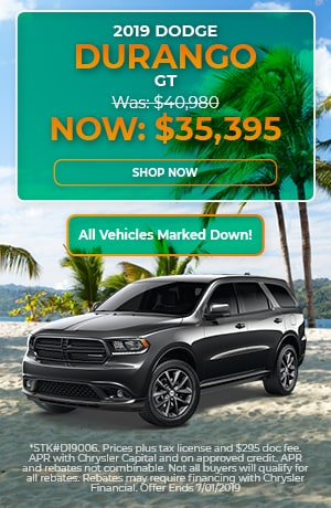2019 Dodge Durango - June