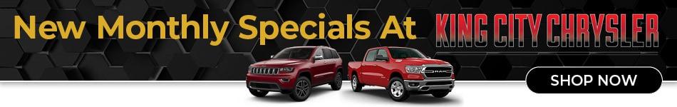 New Monthly Specials