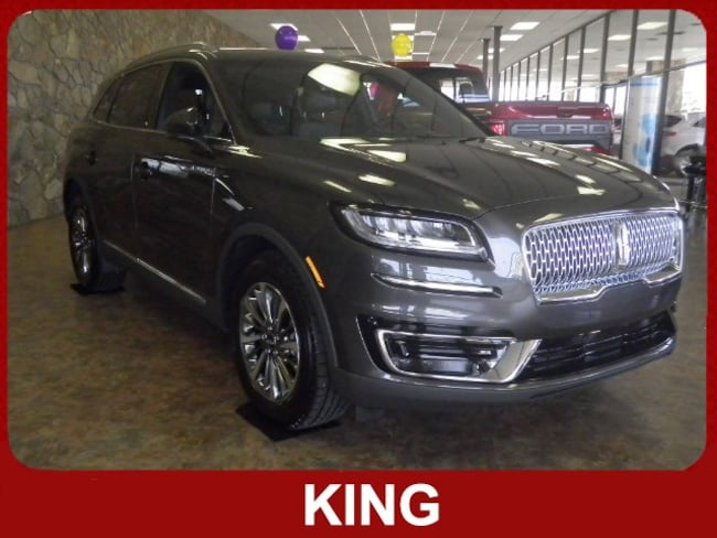 2019 Lincoln Nautilus Select Intelligent All-Whee Crossover