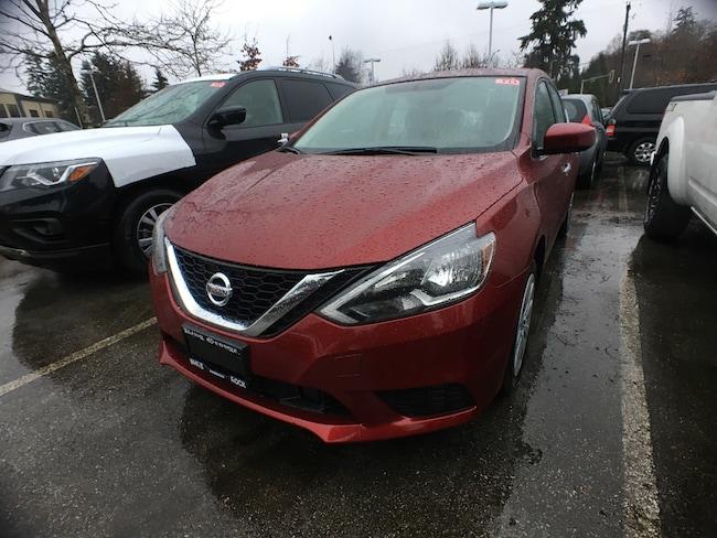 2019 Nissan Sentra 1.8 S Sedan
