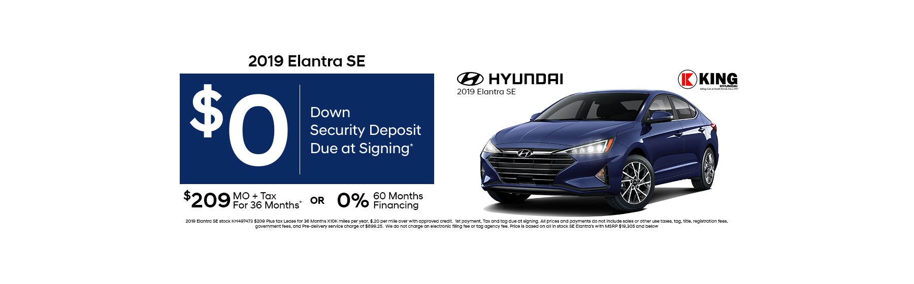 Lease Specials   King Hyundai