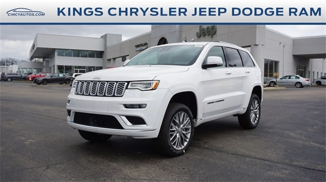 Featured New 2018 Jeep Grand Cherokee SUMMIT 4X4 Sport Utility for sale in Cincinnati, OH