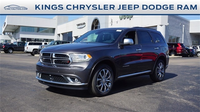 Featured New 2018 Dodge Durango CITADEL ANODIZED PLATINUM AWD Sport Utility for sale in Cincinnati, OH