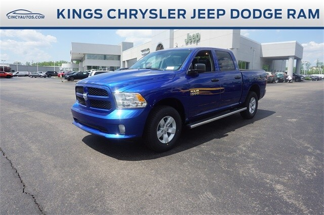Featured New 2018 Ram 1500 EXPRESS CREW CAB 4X4 5'7 BOX Crew Cab for sale in Cincinnati, OH