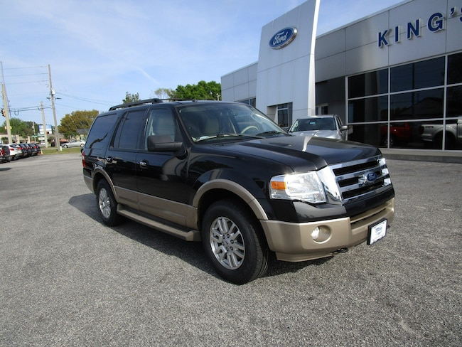 2013 Ford Expedition XLT w/Leather Climate Cont Seats & Power Fold 3rd SUV