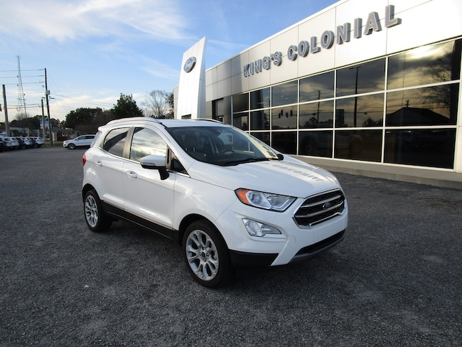 2018 Ford EcoSport Titanium w/Moonroof Navigation Rear Camera & BLIS SUV