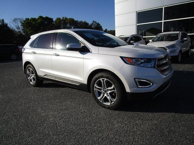2016 Ford Edge Titanium w/Navigation Rear Camera & BLIS SUV