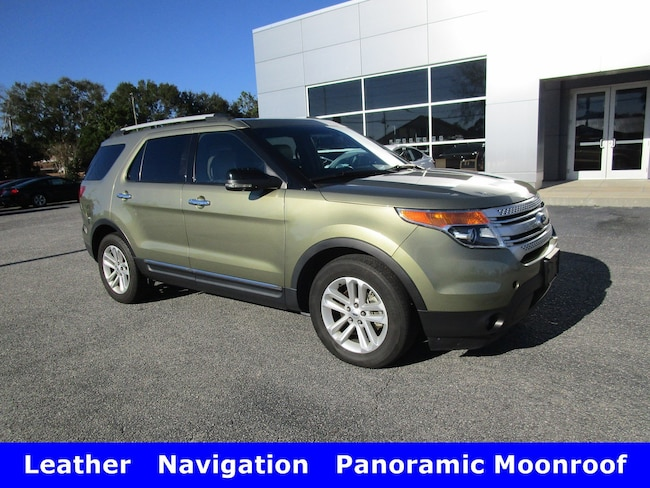 2012 Ford Explorer XLT w/Leather Navigation & Panoramic Moonroof SUV