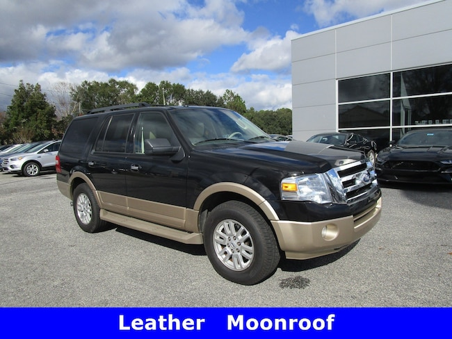2012 Ford Expedition XLT w/Leather Moonroof & Power Fold 3rd Row SUV
