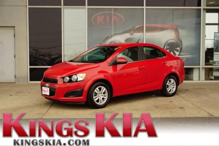 Used 2013 Chevrolet Sonic Lt Sedan For Sale Subaru Of Kings