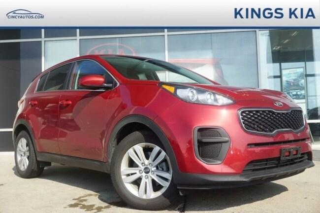 Certified Used 2019 Kia Sportage Lx Suv For Sale Fairfield