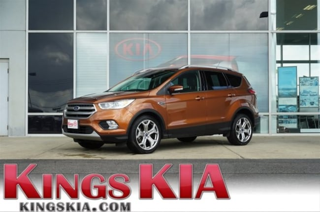 Used 2017 Ford Escape Titanium SUV for sale in Cincinnati OH
