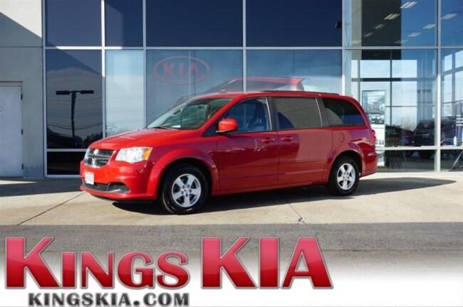Used 2012 Dodge Grand Caravan Sxt Minivan Van For Sale Kings Kia