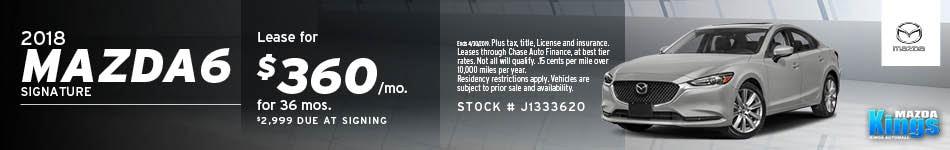 April 2018 Mazda6