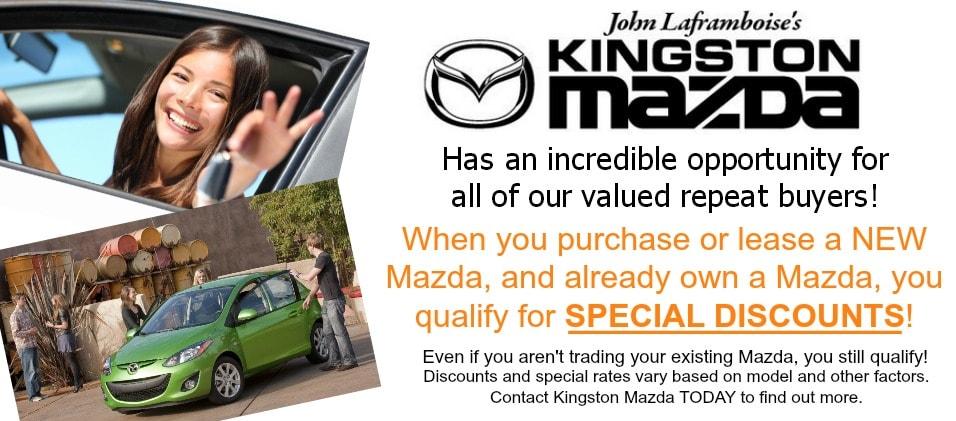 KINGSTON MAZDA New Mazda Dealership In Kingston ON KM X - Mazda loyalty program