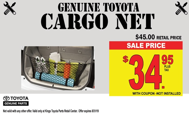 Cincinnati Auto Parts Specials | Kings Toyota