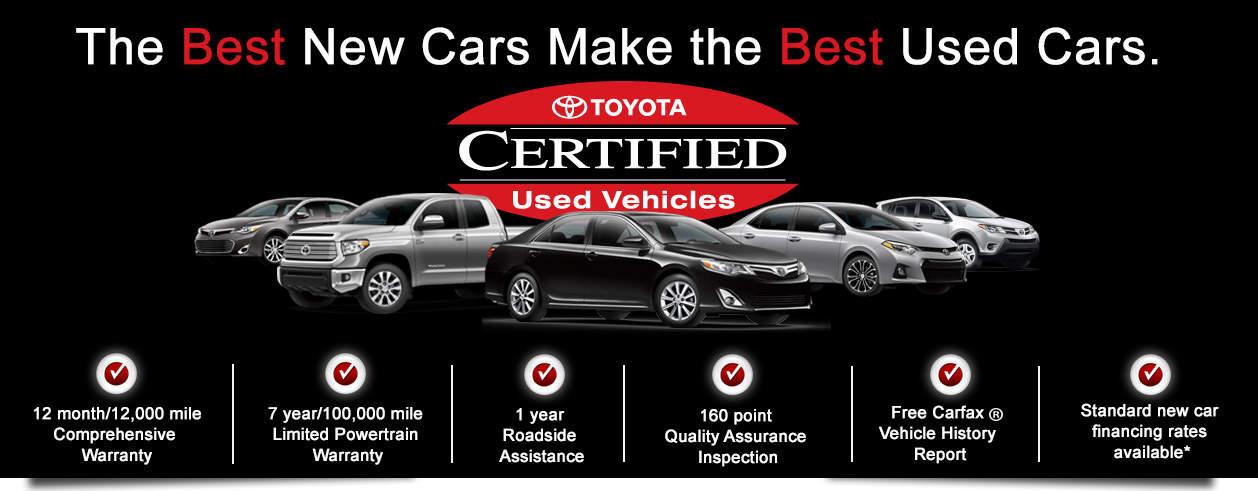 Toyota Certified Pre Owned >> Certified Pre Owned Car Inventory In Cincinnati Oh